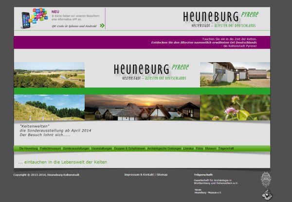Heuneburgwebpage